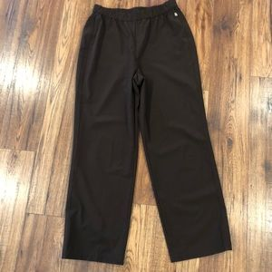 Chico's Zenergy Brown Pull On Travel Pants size 1